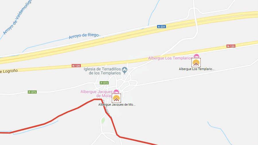 Albergues de peregrinos en Terradillos de los Templarios, Palencia - Camino Francés :: Albergues del Camino de Santiago