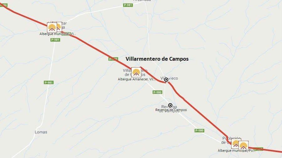 Albergues de peregrinos en Villarmentero de Campos, Palencia - Camino Francés :: Albergues del Camino de Santiago