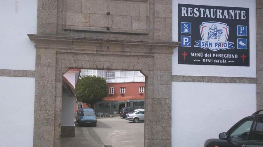 Hostal San Paio, Lavacolla, La Coruña - Camino Francés :: Alojamientos del Camino de Santiago
