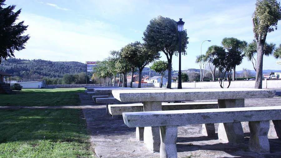 Hotel Garcas, Lavacolla, La Coruña - Camino Francés :: Alojamientos del Camino de Santiago