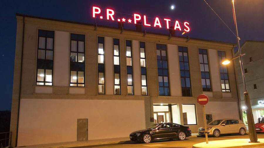 Pensión Platas, O Pedrouzo, La Coruña - Camino Francés :: Alojamientos del Camino de Santiago