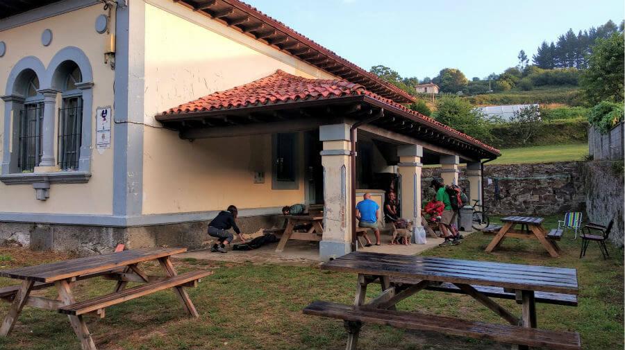 Albergue de peregrinos de Soto de Luiña (Cudillero) - Camino del Norte :: albergues del Camino de Santiago