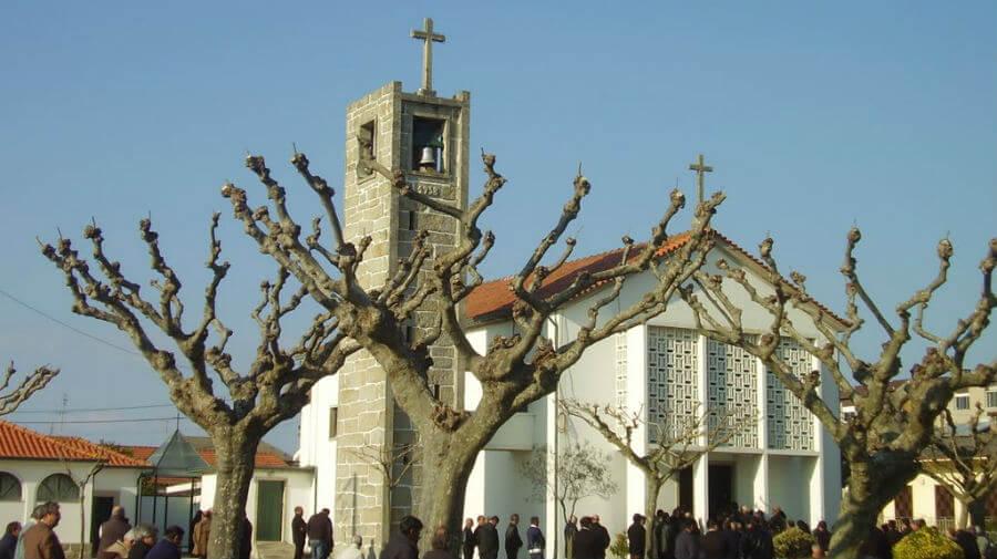 Iglesia de Nuestra Señora de Fátima, Árvore, Vila do Conde, Portugal :: Camino Portugués por la Costa