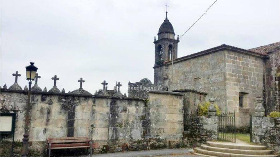 Iglesia de Santa María de Cruces, Padrón, La Coruña - Camino Portugués :: Albergues del Camino de Santiago