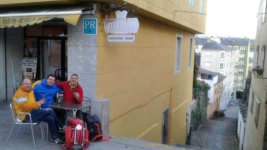 Pensión Escalinata, Sarria, Lugo - Camino Francés :: Alojamientos del Camino de Santiago