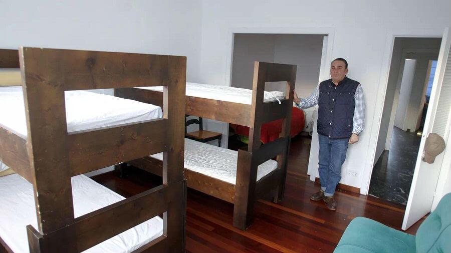 Abre en Ferrol un albergue de donativos para peregrinos con escasos recursos