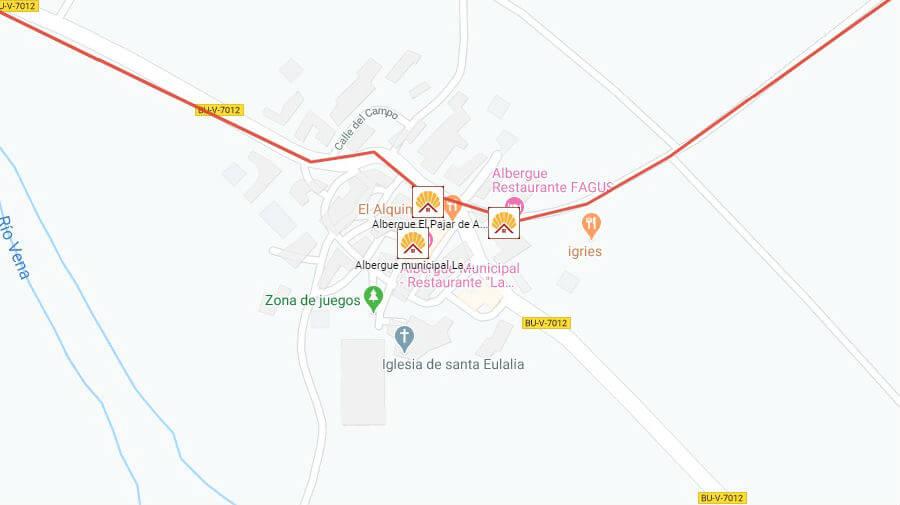 Albergues de peregrinos en Agés, Burgos - Camino Francés :: Albergues del Camino de Santiago