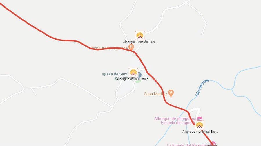 Albergues de peregrinos en Airexe, Lugo - Camino Francés :: Albergues del Camino de Santiago