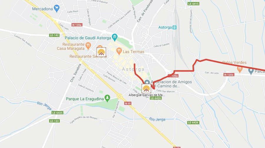 Albergues de peregrinos en Astorga, León - Camino Francés :: Albergues del Camino de Santiago