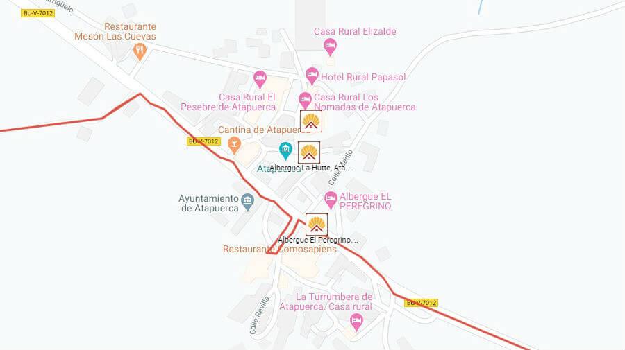 Albergues de peregrinos en Atapuerca, Burgos - Camino Francés :: Albergues del Camino de Santiago