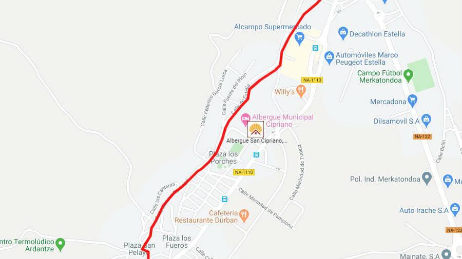 Albergues de peregrinos en Ayegui, Navarra - Camino Francés :: Albergues del Camino de Santiago
