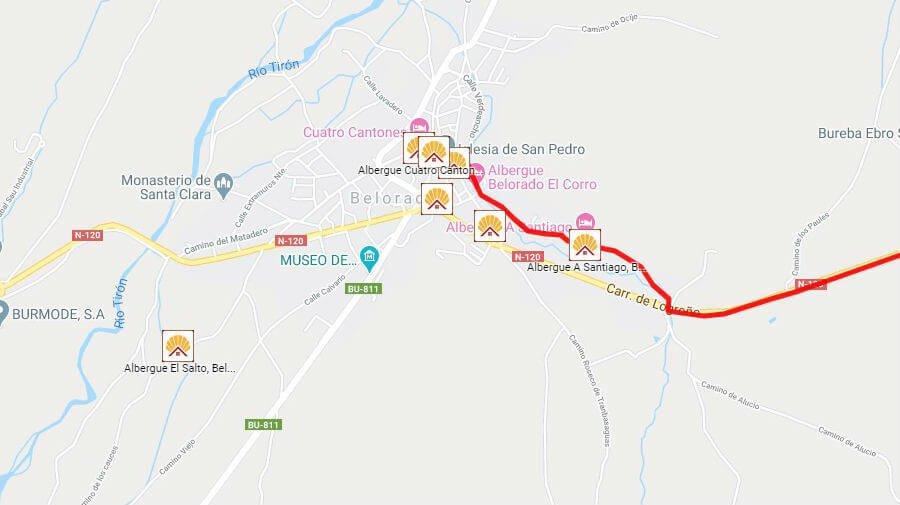 Albergues de peregrinos en Belorado, Burgos - Camino Francés :: Albergues del Camino de Santiago