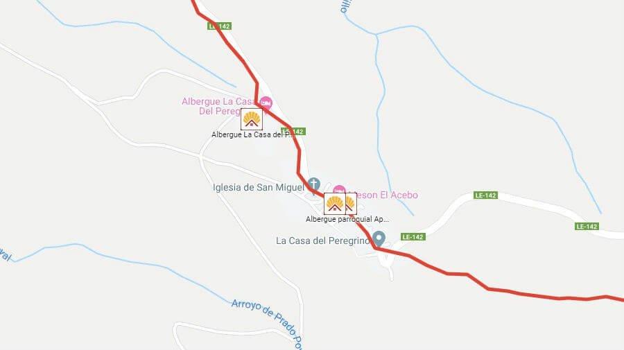 Albergues de peregrinos en El Acebo de San Miguel, León - Camino Francés :: Albergues del Camino de Santiago