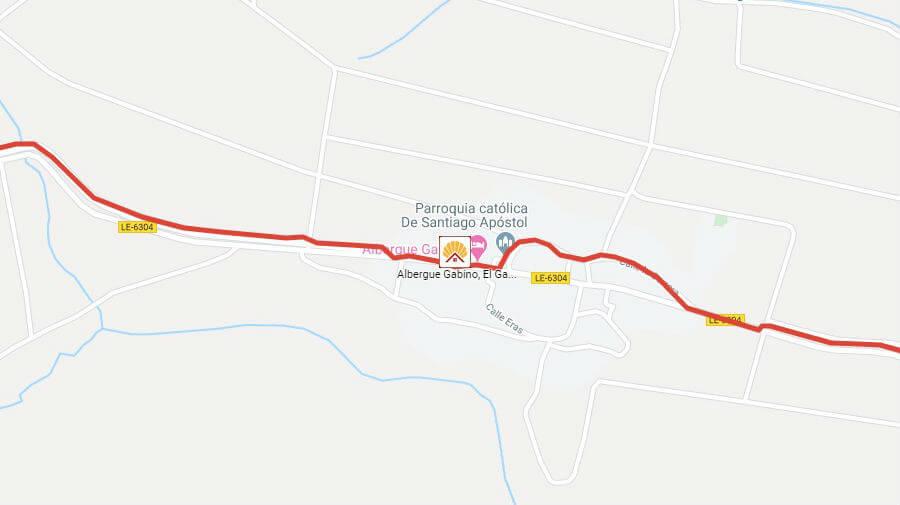 Albergues de peregrinos en El Ganso, León - Camino Francés :: Albergues del Camino de Santiago