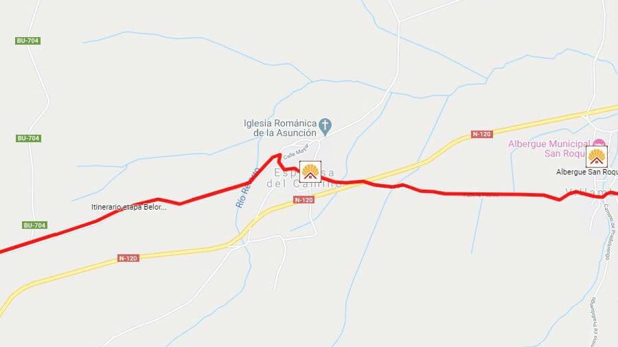 Albergues de peregrinos en Espinosa del Camino, Burgos - Camino Francés :: Albergues del Camino de Santiago