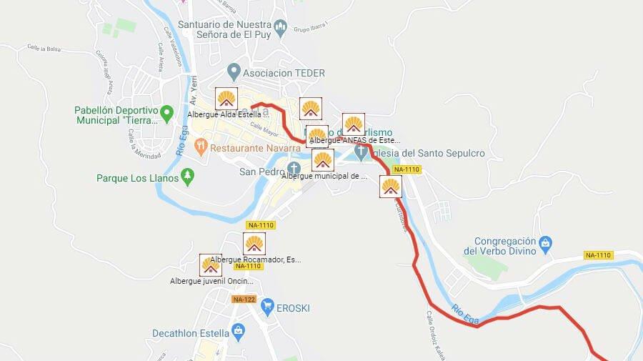 Albergues de peregrinos en Estella, Navarra - Camino Francés :: Albergues del Camino de Santiago
