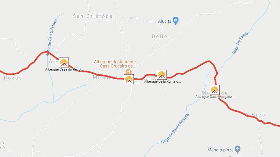 Albergues de peregrinos en Ferreiros, Lugo - Camino Francés :: Albergues del Camino de Santiago