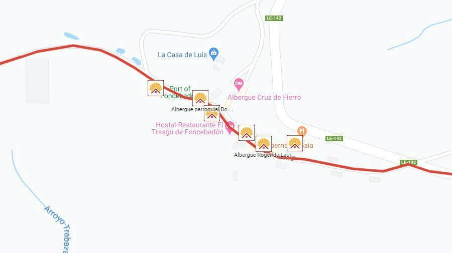 Albergues de peregrinos en Foncebadón, León - Camino Francés :: Albergues del Camino de Santiago