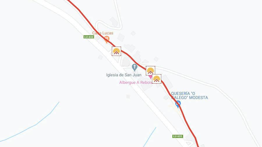 Albergues de peregrinos en Fonfría, Lugo - Camino Francés :: Albergues del Camino de Santiago