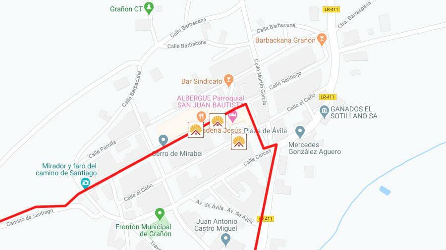 Albergues de peregrinos en Grañón, La Rioja - Camino Francés :: Albergues del Camino de Santiago