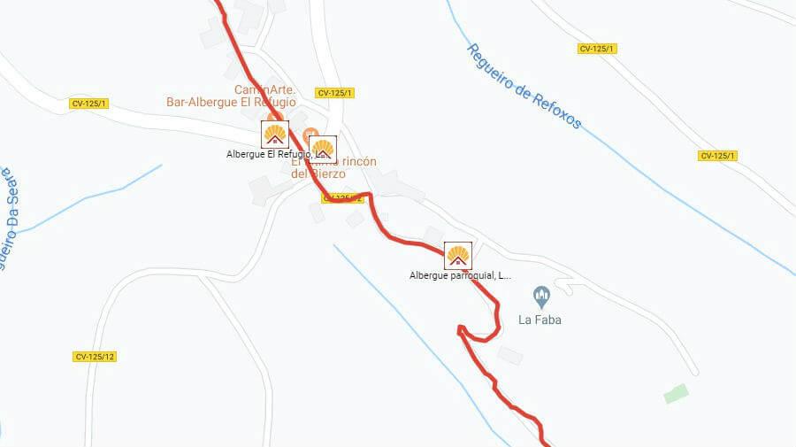 Albergues de peregrinos en La Faba, León - Camino Francés :: Albergues del Camino de Santiago