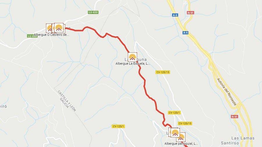 Albergues de peregrinos en La Laguna de Castilla, León - Camino Francés :: Albergues del Camino de Santiago