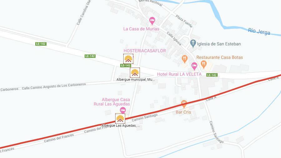 Albergues de peregrinos en Murias de Rechivaldo, León - Camino Francés :: Albergues del Camino de Santiago