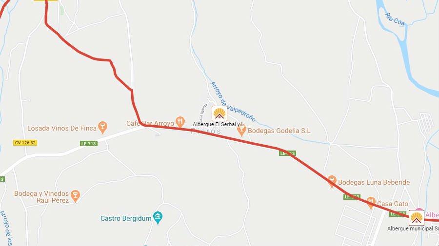 Albergues de peregrinos en Pieros, León - Camino Francés :: Albergues del Camino de Santiago