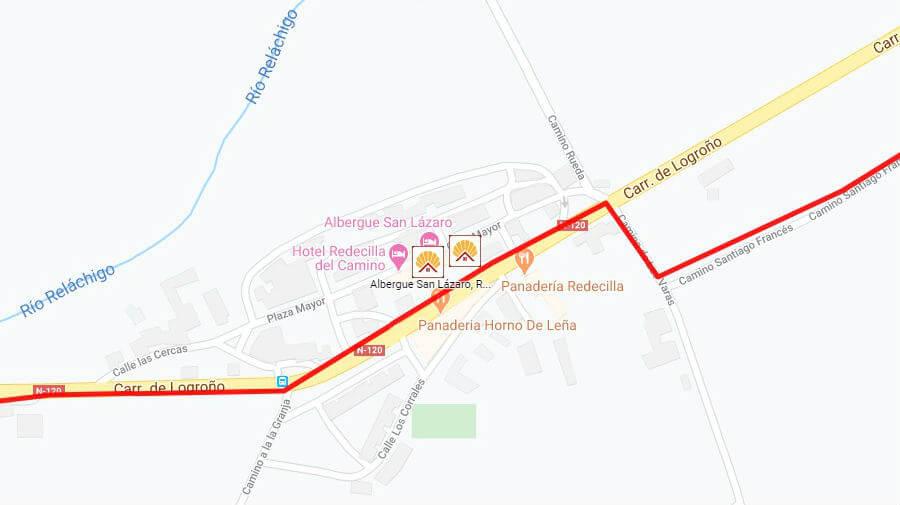 Albergues de peregrinos en Redecilla del Camino, Burgos - Camino Francés :: Albergues del Camino de Santiago