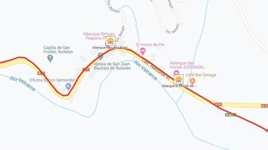 Albergues de peregrinos en Ruitelán, León - Camino Francés :: Albergues del Camino de Santiago