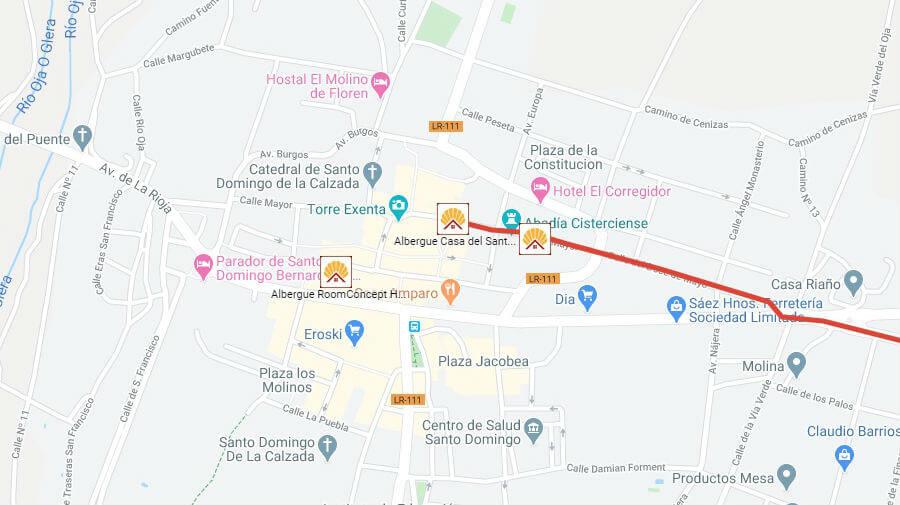 Albergues de peregrinos en Santo Domingo de la Calzada, La Rioja - Camino Francés :: Albergues del Camino de Santiago