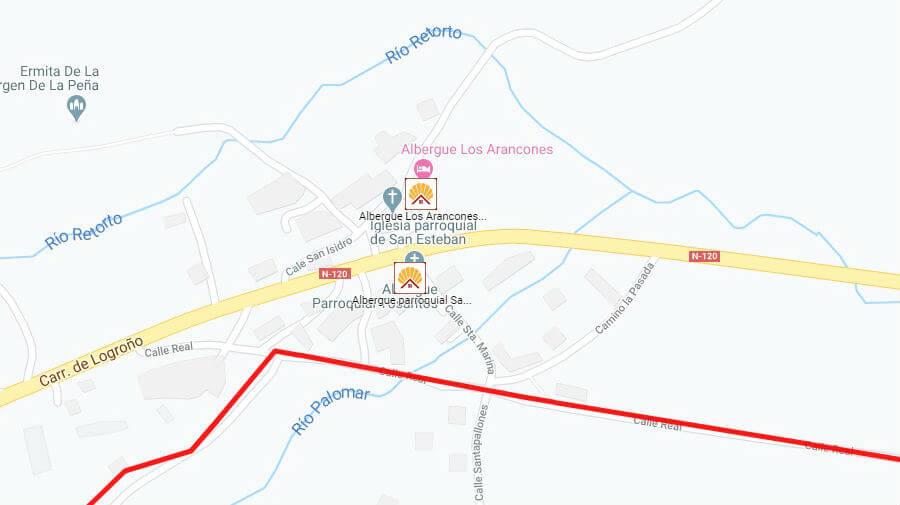 Albergues de peregrinos en Tosantos, Burgos - Camino Francés :: Albergues del Camino de Santiago