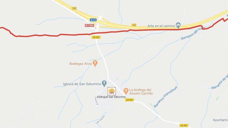 Albergues de peregrinos en Ventosa, La Rioja - Camino Francés :: Albergues del Camino de Santiago
