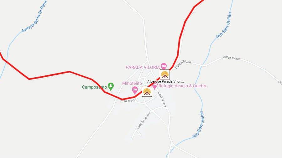 Albergues de peregrinos en Viloria de Rioja, Burgos - Camino Francés :: Albergues del Camino de Santiago