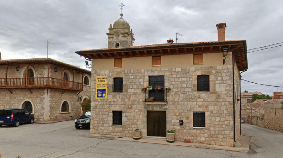 Albergue Óspital Santa Marina y Santiago, Rabé de las Calzadas, Burgos - Camino Francés :: Albergues del Camino de Santiago