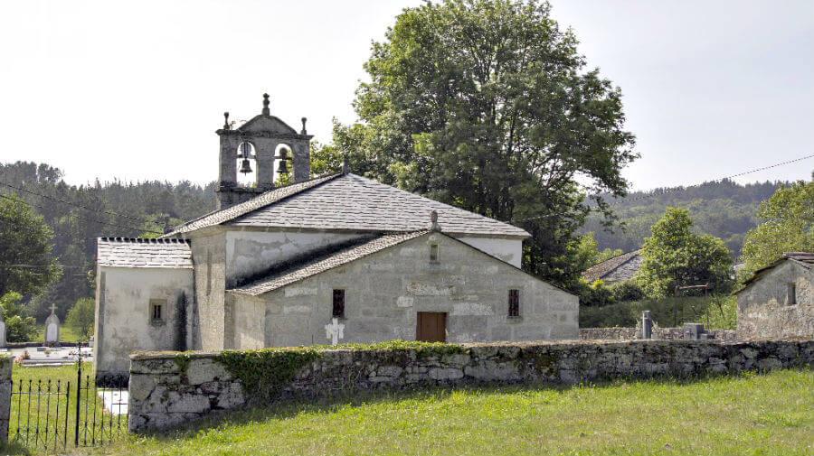 Iglesia parroquial de San Pedro de Romeán, Lugo - Camino Primitivo :: Guía del Camino de Santiago