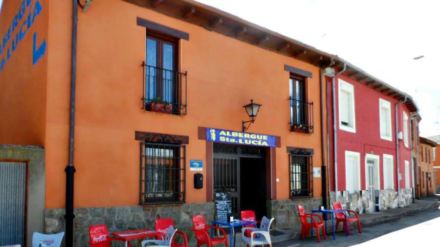 Albergue Santa Lucía, Villavante, León - Camino Francés :: Albergues del Camino de Santiago