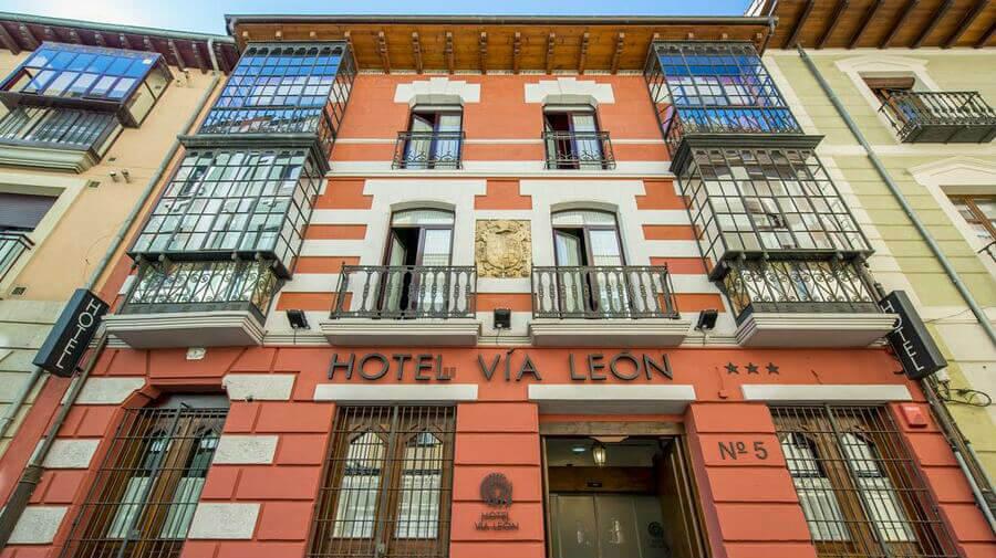 Hotel Alda Vía León, León - Camino Francés :: Alojamientos del Camino de Santiago