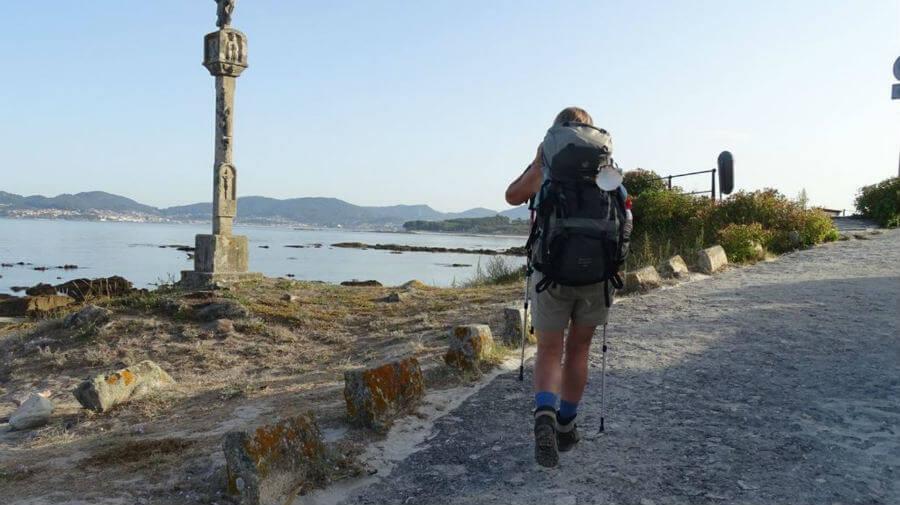 Un peregrino en el Camino Portugués por la Costa :: Guía del Camino de Santiago