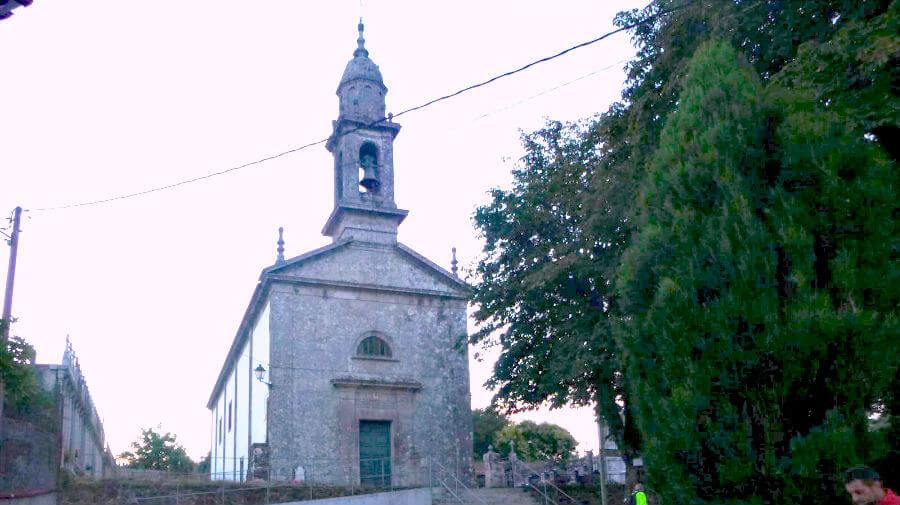 Iglesia de San Paio, Lavacolla, La Coruña - Camino Francés :: Guía del Camino de Santiago