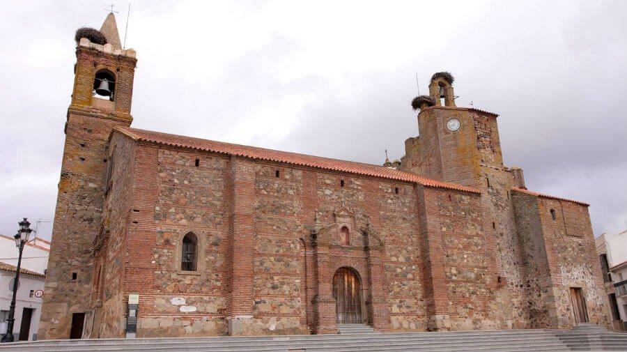 Iglesia de San Pedro, Monesterio (Badajoz) - Vía de la Plata :: Guía del Camino de Santiago