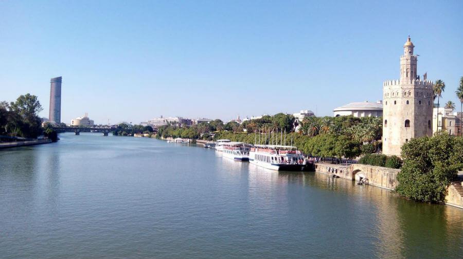 Río Guadiana, Sevilla - Vía de la Plata :: Guía del Camino de Santiago