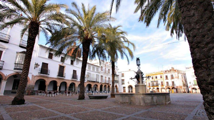 Plaza Grande de Zafra, Badajoz - Vía de la Plata :: Guía del Camino de Santiago