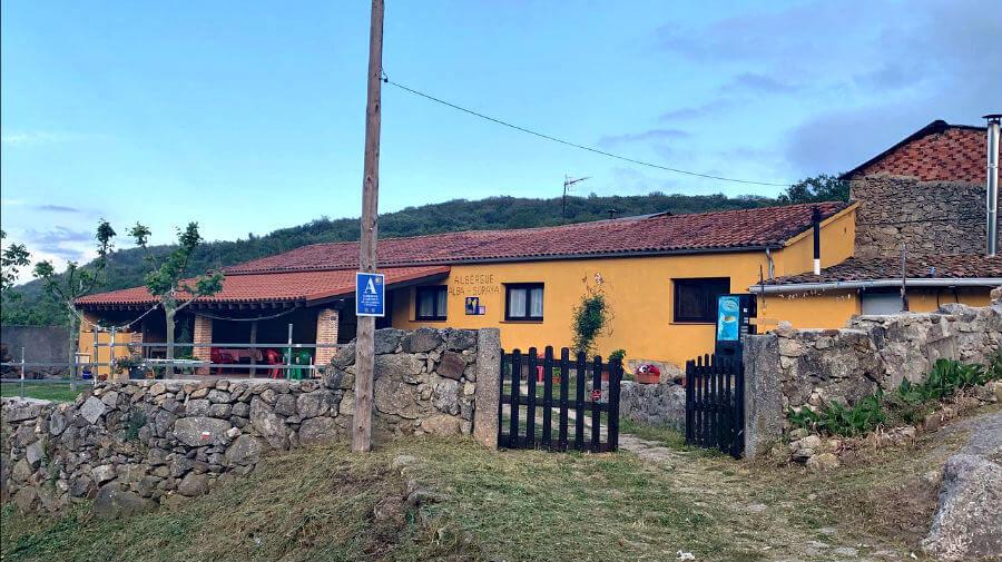 Albergue Alba - Soraya, La Calzada de Béjar, Salamanca - Vía de la Plata :: Albergues de la Vía de la Plata