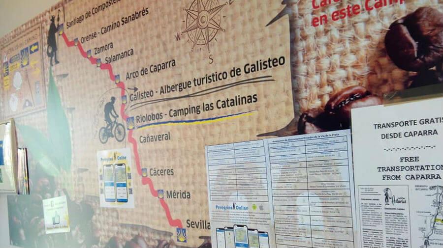Albergue turístico de Galisteo, Galisteo, Cáceres - Vía de la Plata :: Albergues del Camino de Santiago