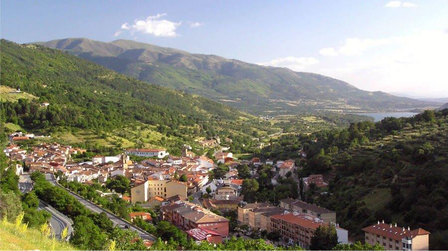 Vista de Baños de Montemayor, Cáceres - Vía de la Plata :: Guía del Camino de Santiago