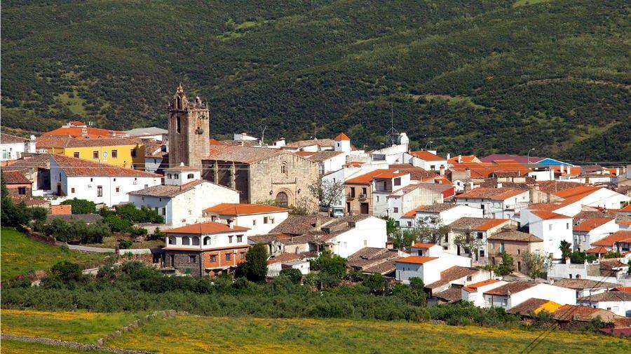 Vista de Cañaveral, Cáceres - Vía de la Plata :: Guía del Camino de Santiago