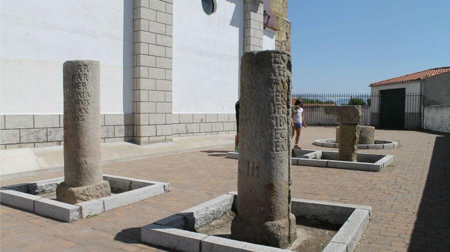 Restos romanos en Carcaboso, Cáceres - Vía de la Plata :: Guía del Camino de Santiago