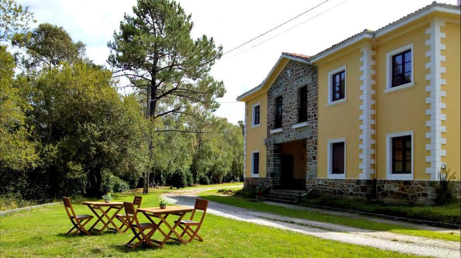 Albergue Andén de Novellana, Novellana (Cudillero), Asturias - Camino del Norte :: Albergues del Camino de Santiago