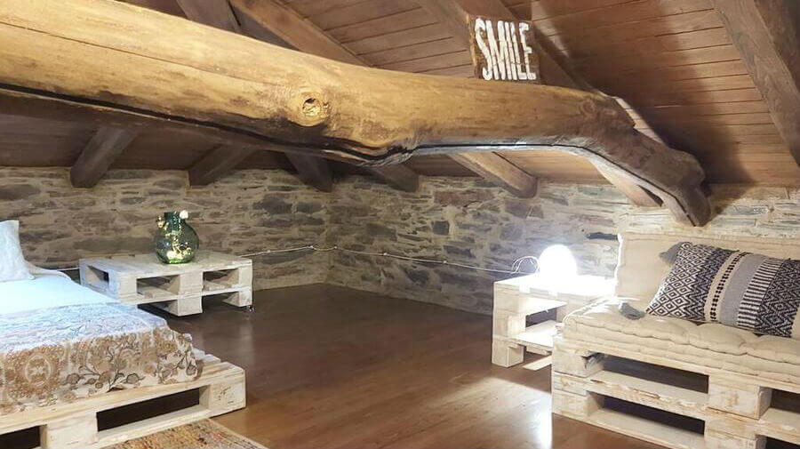 Casa O Paxar, Samos, Lugo - Camino Francés :: Alojamientos del Camino de Santiago